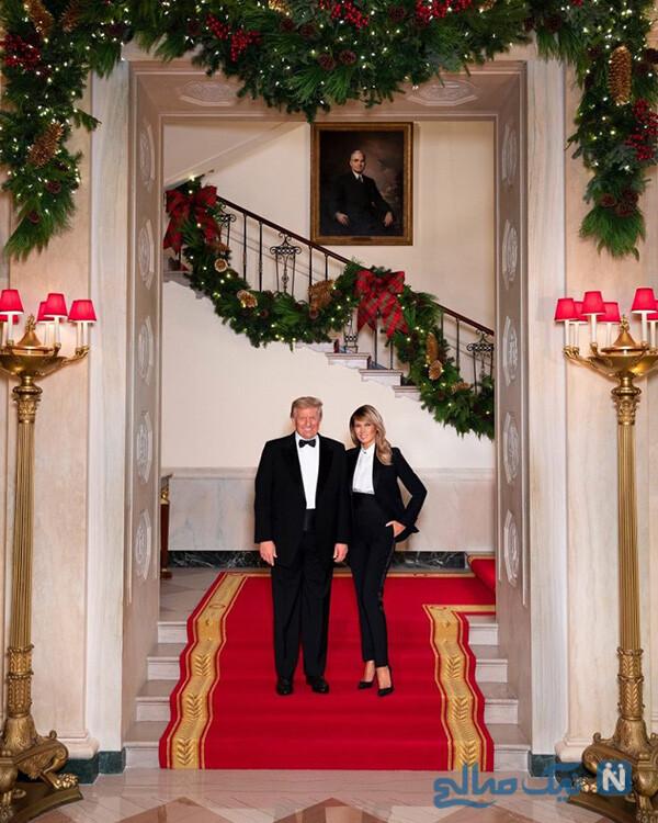 دونالد و ملانیا ترامپ
