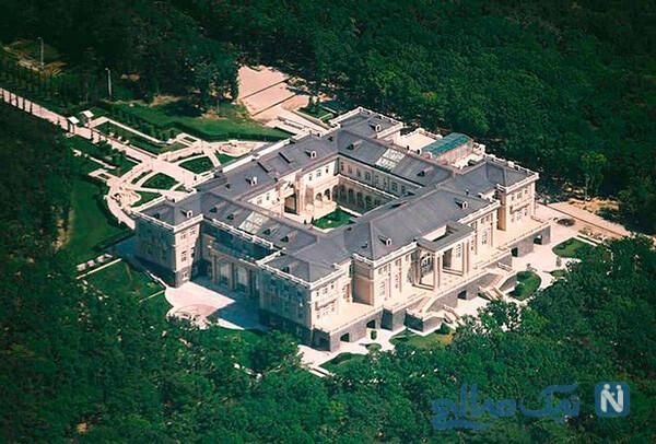 قصر مجلل ولادیمیر پوتین