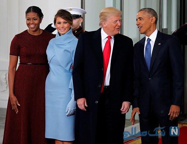 ترامپ و میشل اوباما