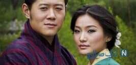 پادشاه و ملکه بوتان با قصه ای عاشقانه روی دامنه های هیمالیا