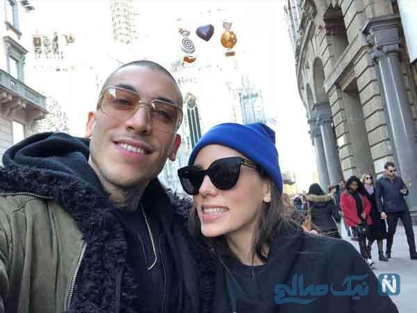 اویکو کارایل و همسرش