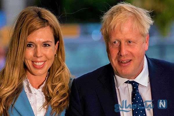 ازدواج بوریس جانسون نخست وزیر انگلیس برای سومین بار
