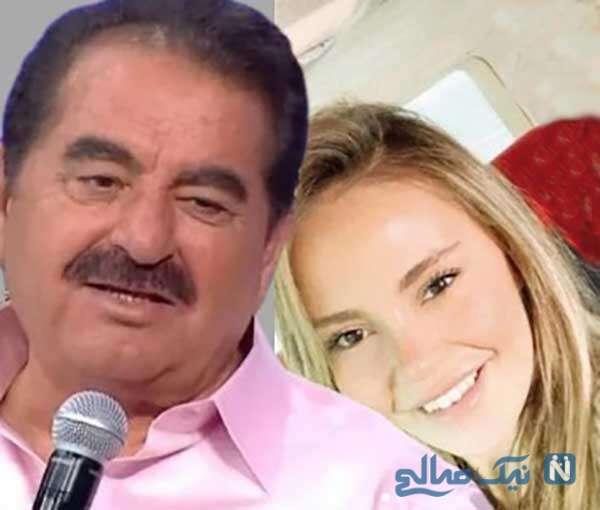 ازدواج ابراهیم تاتلیس خواننده معروف با گلچین کاراکایا دختر ۲۶ ساله