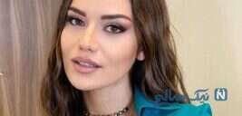 جشن تولد فحریه اوجن بازیگر و مدل ترکیه ای با عاشقانه همسرش