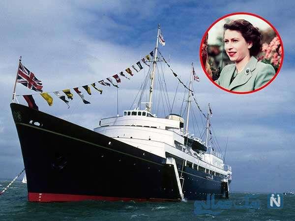 کشتی تفریحی خاندان سلطنتی بریتانیا و حقایقی جالب از کاخ شناور الیزابت