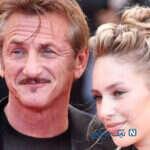 شان پن و دخترش دیلن در جشنواره فیلم کن در اکران روز پرچم