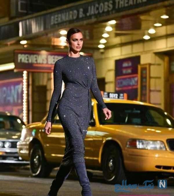 کانیه وست و ایرینا شایک با جنجال و علت جالب جدایی از مدل معروف