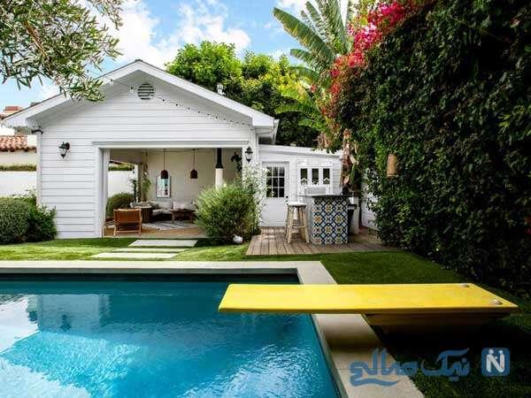خانه مارگو رابی ستاره زیباروی هالیودی در لس آنجلس را ببینید