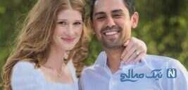 مراسم باشکوه ازدواج دختر بیل گیتس با اسب سوار مصری امریکایی