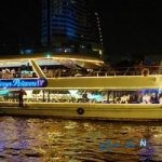 بازاری در تایلندکه روی آب است + تصاویر