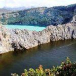 دریاچه های سه رنگ اندونزی+تصاویر