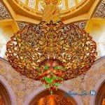 مسجد شیخ زاید در امارات +تصاویر