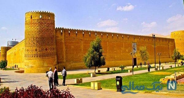 ارگ وکیل شیراز بنای باقیمانده زندیه +عکس