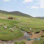 کوه سرمشک از جاذبه های طبیعی کرمان+تصاویر