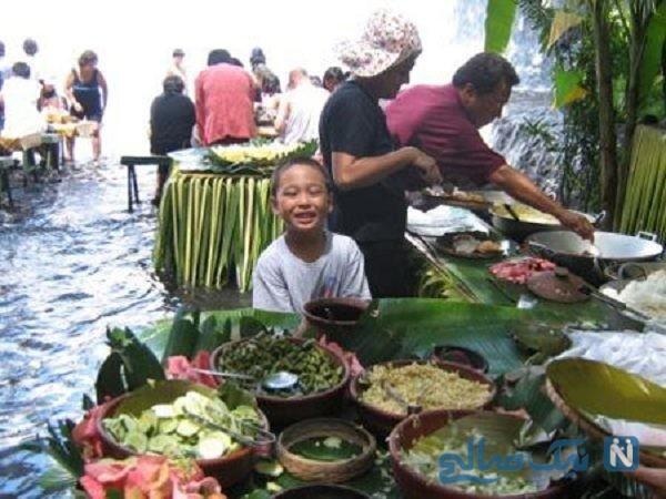 رستوران آبشار ویلا اسکودرو فیلیپین+تصاویر