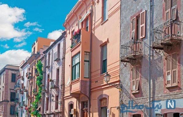 مناطق توریستی با مناظر بسیار زیبا در ایتالیا+تصاویر
