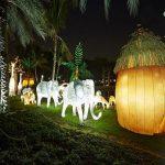 پارک نور دبی + تصاویر