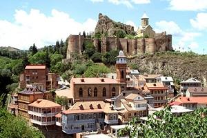 جاذبه های دیدنی شهر تفلیس در کشور گرجستان + تصاویر