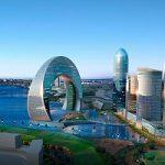 هتلی به شکل ماه در آذربایجان!!+ تصاویر