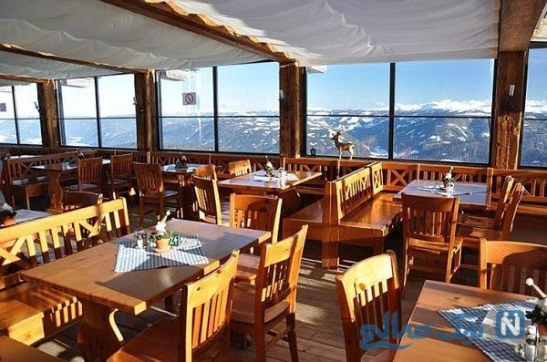 زیباترین رستوران های جهان با چشم اندازهای خیره کننده+تصاویر
