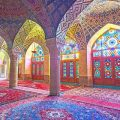 زیباترین مسجد شیراز+تصاویر
