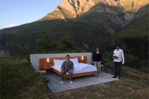 هتلی بدون سقف و دیوار