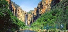 راین ,آبشاری در زیباترین و شکوهمندترین مسیرهای کوهپایهای کرمان+تصاویر