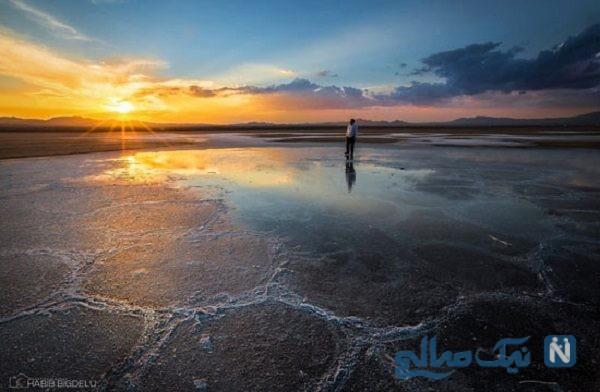 عجیب ترین و شگفت انگیزترین دریاچه و تالاب های ایران که شما را شگفت زده میکنند+تصاویر