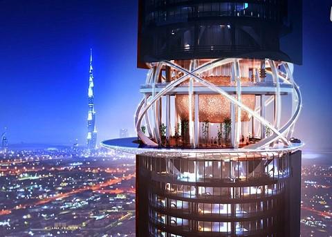 هتل خیره کننده در دبی