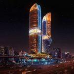 هتل خیره کننده در دبی ,هتلی با جنگل اختصاصی+تصاویر