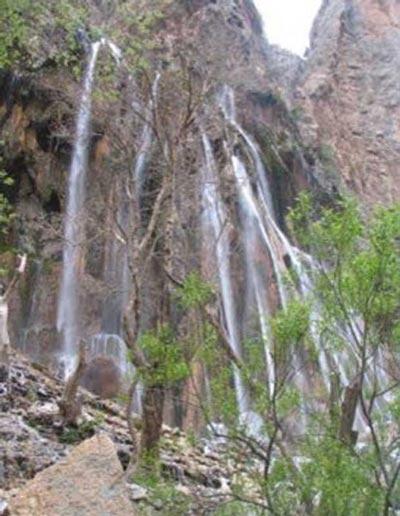 آبشارهای دیدنی سیستان و بلوچستان+تصاویر