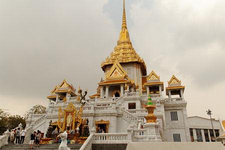بزرگترین بودای جهان در معبد ترایمیت+تصاویر