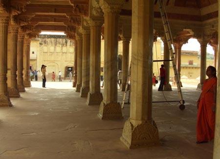 قلعه Amber در جی پور هند +تصاویر
