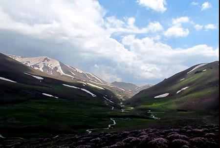سهند عروس کوهستانهای ایران +تصاویر