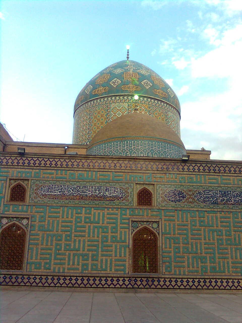 بارگاه امامزاده محروق نیشابور+عکس