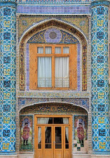 عمارت مفخم بزرگترین و شاخصترین اثر معماری دوره قاجار در خراسان شمالی +تصاویر