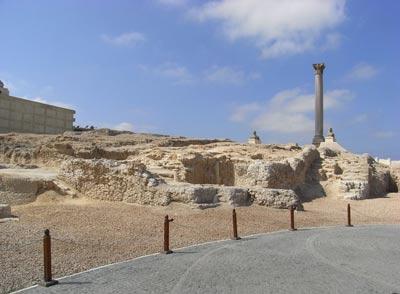 معبد سراپیوم در اسکندریه مصر +تصاویر