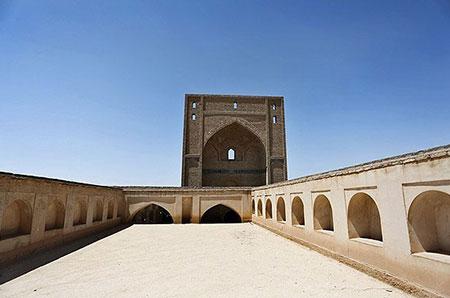 مسجد جامع سمنان یادگار قرن اول هجری +تصاویر