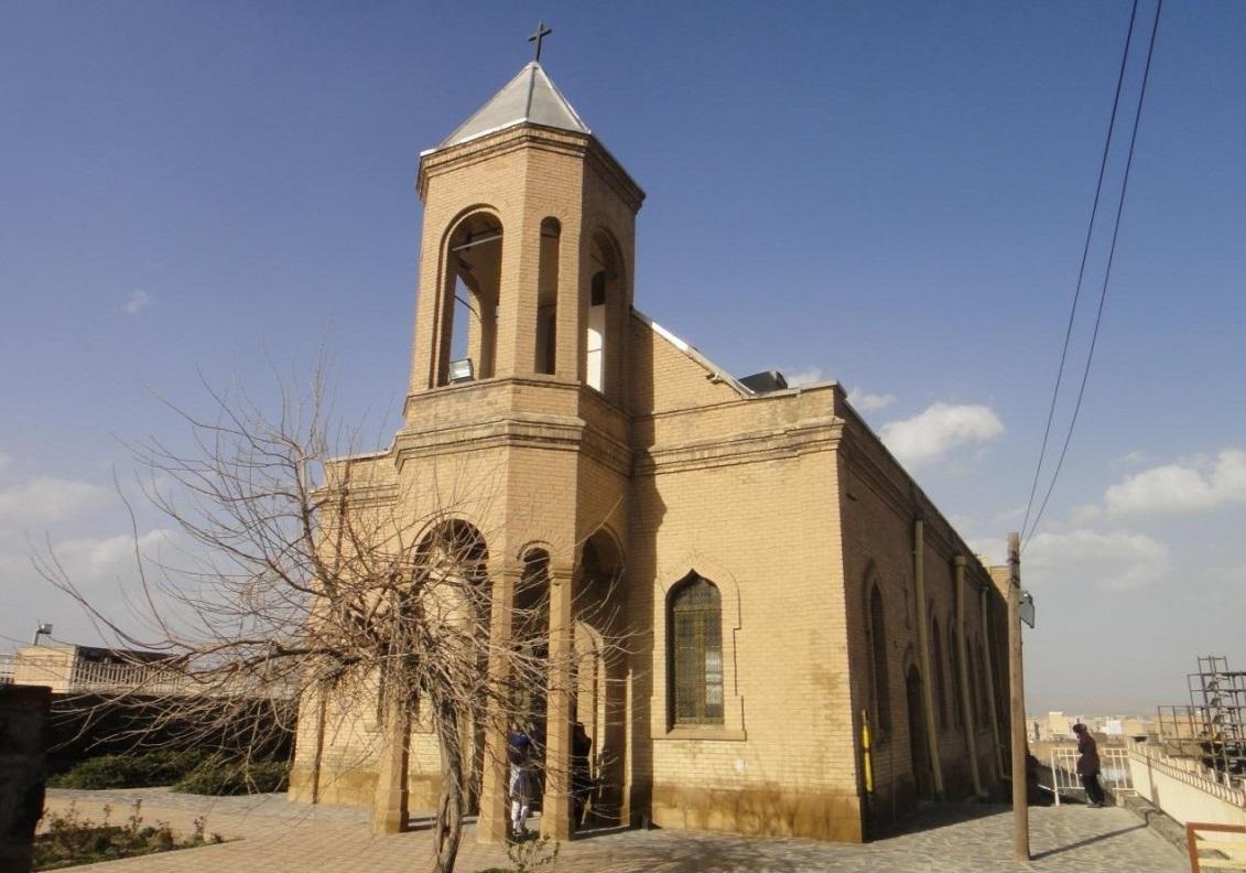 کلیسای گریگوری استپانوس در همدان+عکس