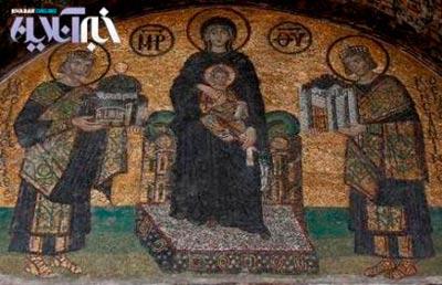 کلیسای زیبای ایاصوفیه، باارزش ترین اثر باقی مانده از دوره بیزانس+تصاویر