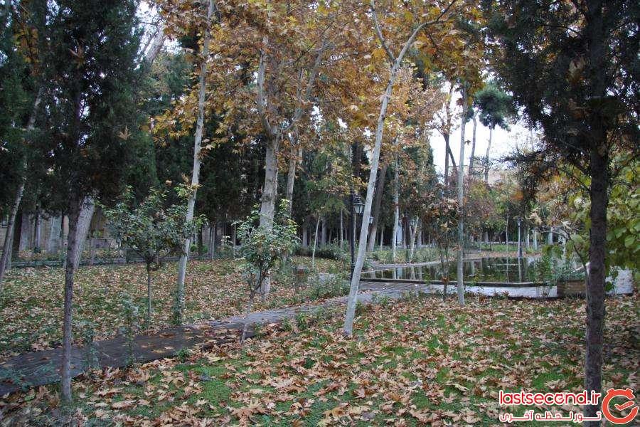 باغ زیبا و کهنسال نگارستان+تصاویر