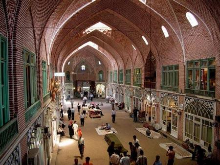 بازار تبریز نخستین بازار جهان در میراث جهانی یونسکو +تصاویر