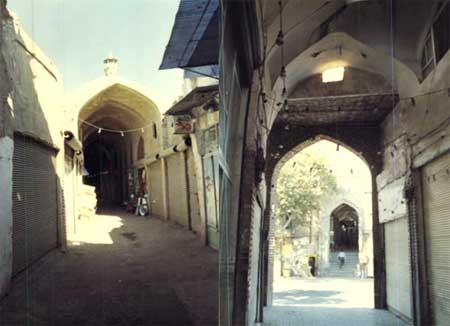 آشنایی با بازار شیخ علاءالدوله سمنان+تصاویر