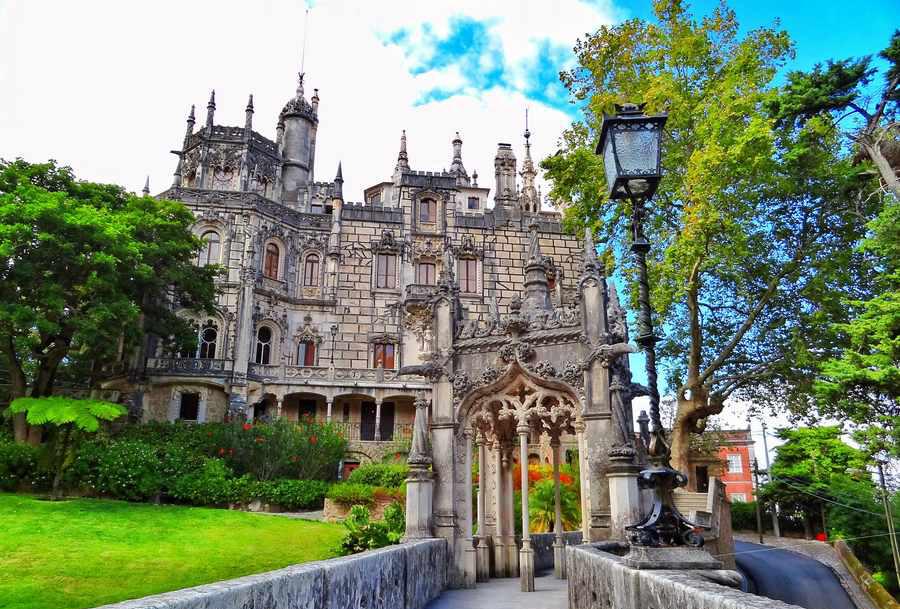 کاخی مرموز و اسرار آمیز در پرتغال +تصاویر