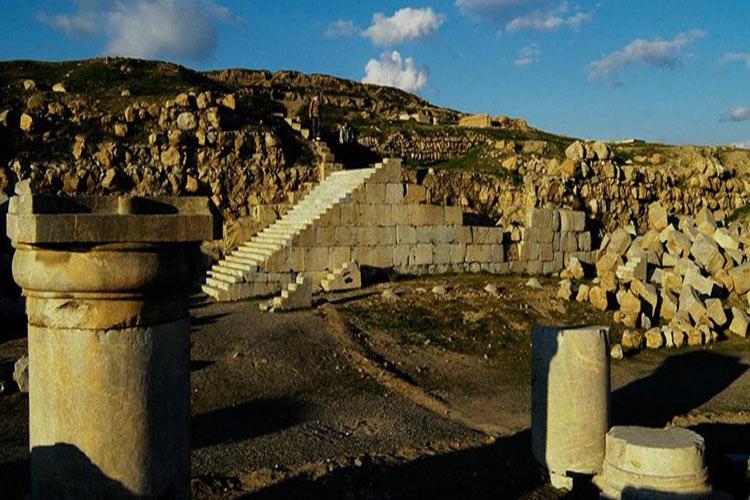 معبد آناهیتا، دومین بنای بزرگ سنگی ایران +تصاویر