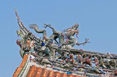 معبد منگجا لونگشان در تایوان+تصویر