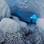 بزرگ ترین آتشفشان فعال روی زمین که با یخ پوشیده شده+تصاویر