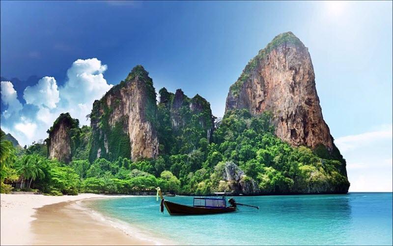 ساحل ریلی یکی از پربازدیدترین و محبوبترین مکانها در تایلند+تصاویر