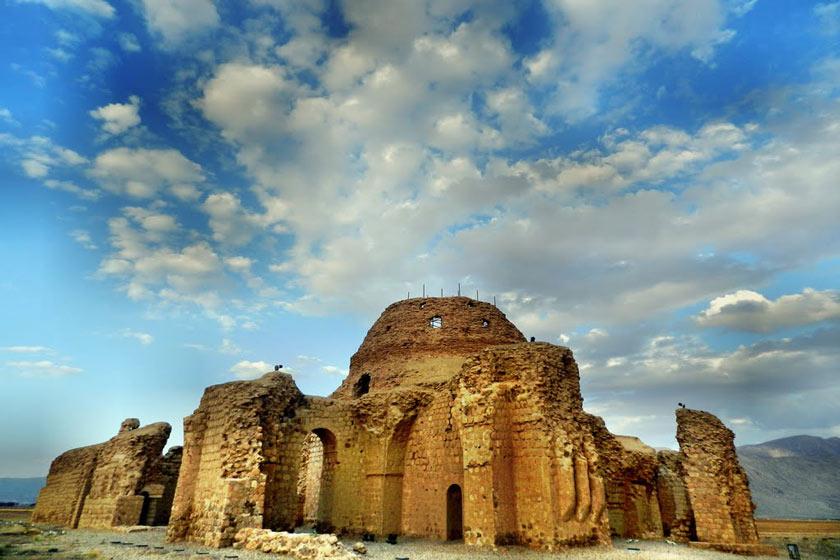 کاخ ساسانی بهترین مکان برای دیدن هنر باستانی ایران+تصاویر