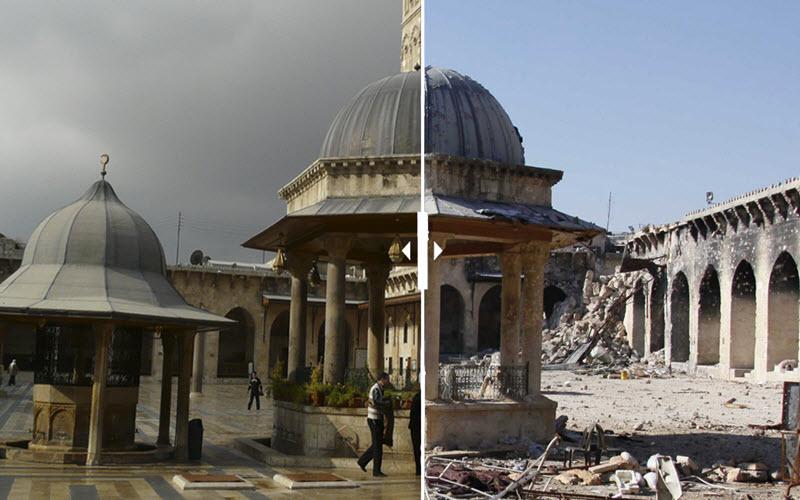 گشتی در گذشته دیدنی شهر حلب از کهنترین شهرهای خاورمیانه+تصاویر